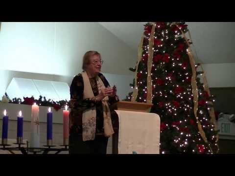 Mary Decker Preaches 1-1-17