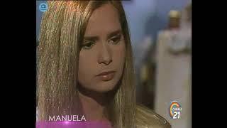 """🎭 Сериал """"Мануэла"""" 223 серия, 1991 год, Гресия Кольминарес, Хорхе Мартинес"""