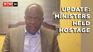Minister in the Presidency, Mr Mondli Gungubele gave an account of what happened at St George's Hotel on the evening of 14 October 2021, during a meeting between the Presidential Task Team on Matters of Military Veterans and Military Veterans.
