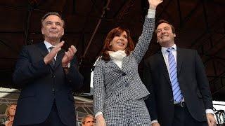 14 de MAY. Inauguración Sede Gral. Roca de la UNRN. Cadena Nacional. Cristina Fernández.