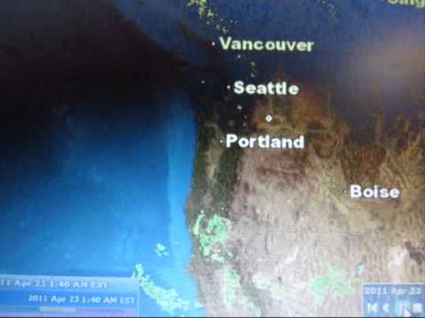 HUGE haarp ring april 23 2011 Must See Seatle And Portland