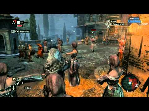 Assassin's Creed: Revelations Gameplay - Part 8: Curse of the Romani, Templar Dens, The Acrobat