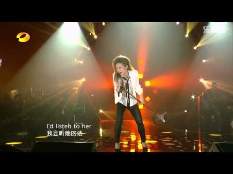 【高清HD】G.E.M. 鄧紫棋 《If I Were A Boy》 Live @ 我是歌手5th of Season 2