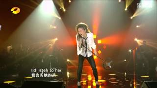 【高清HD】G.E.M. 鄧紫棋 《If I Were A Boy》 Live @ 我是歌手5th of Season 2