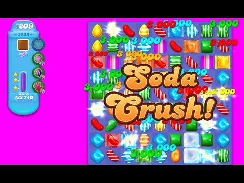 Candy Crush Soda Saga Level 2225★★★ | All Combo | Move ...
