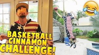 Basketball Cinnamon Challenge (H.O.R.S.E Challenge)