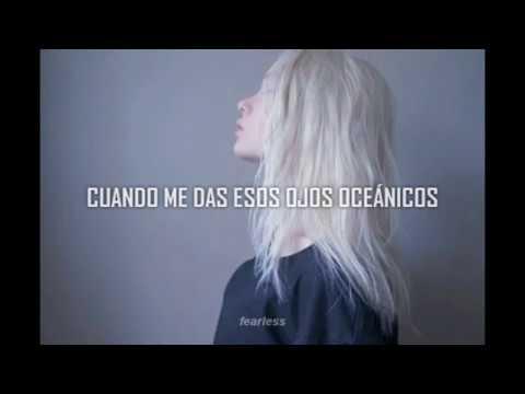 billie eilish - ocean eyes (blackbear remix) || español