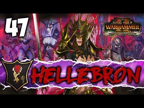 TIDE OF CHAOS! Total War: Warhammer 2  Dark Elf Mortal Empires Campaign  Hellebron #47