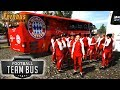 FERNBUS DLC: Football Team Bus - Fernbus Coach Simulator - Simul8 Gaming (with Wheel Cam)
