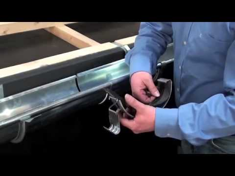 Install Gutter Connectors Youtube