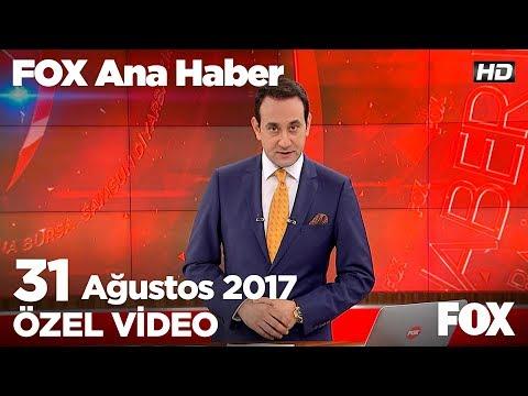 Erdoğan çifti El Ele Geldi... 31 Ağustos 2017 FOX Ana Haber