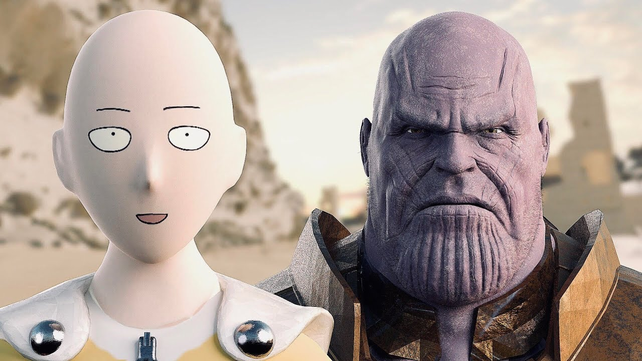 Thanos Vs Saitama E Punch Man