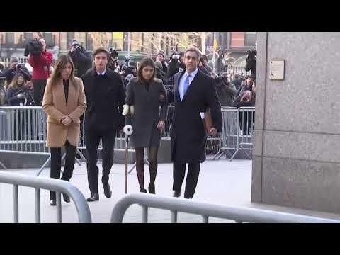 Michael Cohen Arrives For Sentencing In New York Court