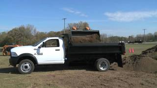 2016 Ram 5500 Chassis Cab Towing and Hauling Footage