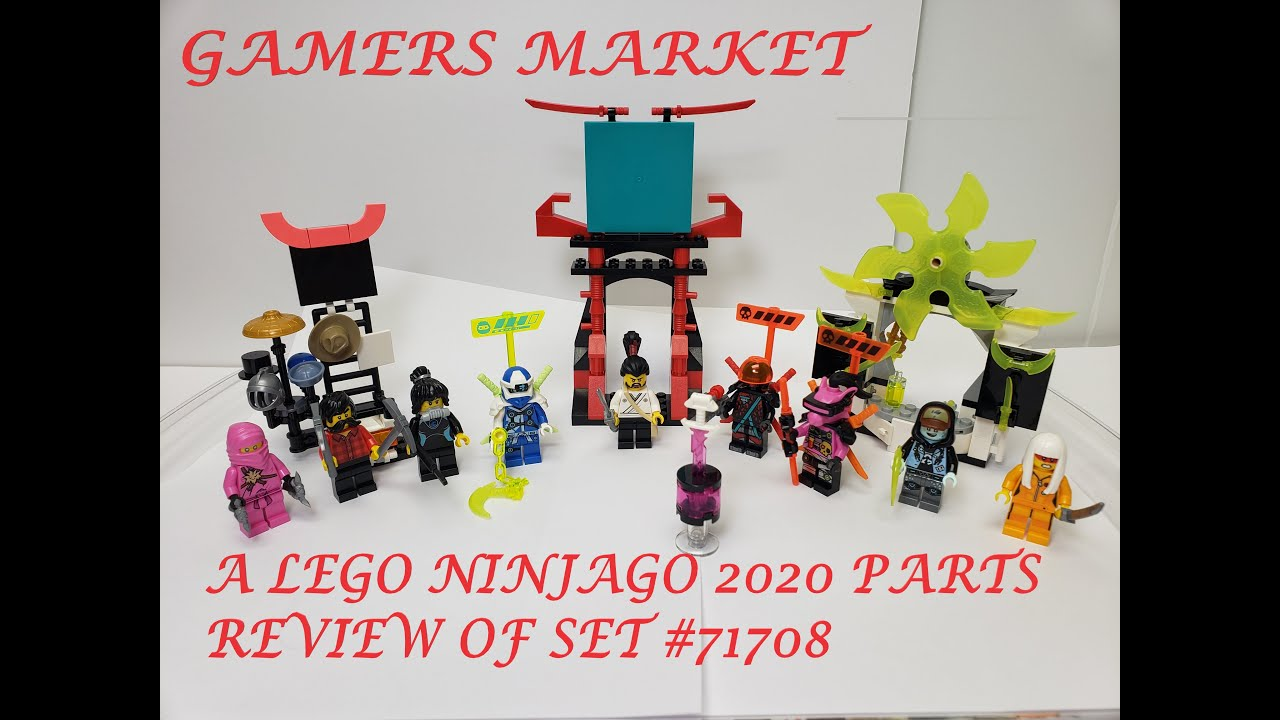 Lego Ninjago Gamer/'s Market Building Set 71708
