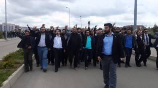 AGD Ankara Üniversite Gölbaşı Kampüsü Gül Dikimi
