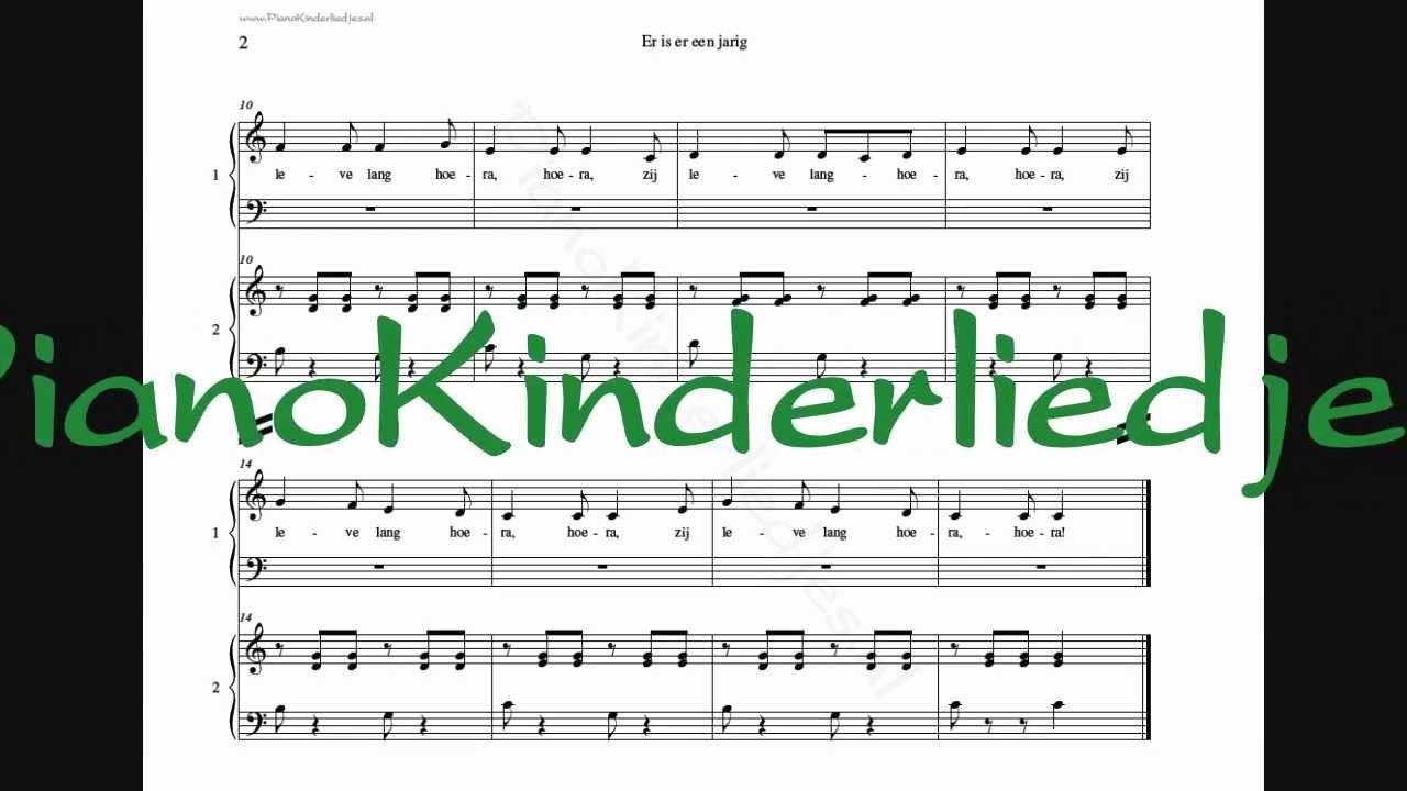 er is er een jarig muziek Er is er een jarig   piano vierhandig   YouTube er is er een jarig muziek
