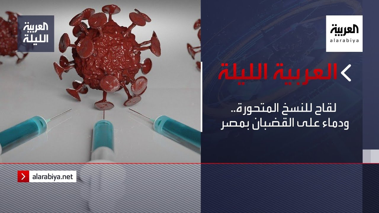 نشرة العربية الليلة | لقاح للنسخ المتحورة.. ودماء على القضبان بمصر  - نشر قبل 21 دقيقة
