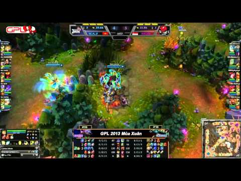 [GPL 2013 Mùa Xuân] [Tuấn 1] Saigon Jokers vs Singapore Sentinels [06.01.2013]