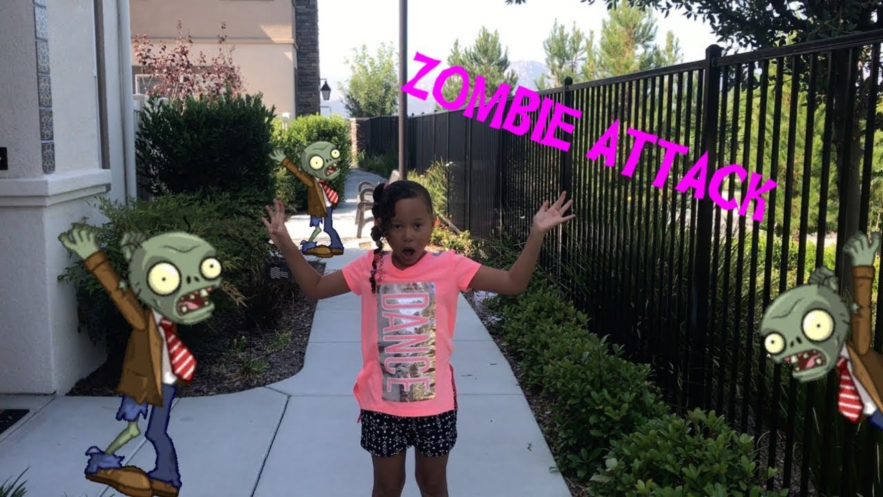 Zombie Attack Funny Kid Friendly Skit Part 1 Youtube