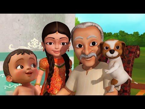 Nana ji | Hindi Rhymes for Children | Infobells