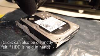 Strange clicks from 4TB WD Black Western Digital HDD. Click of death?