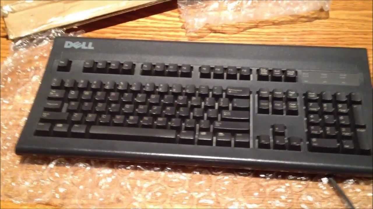 Dell AT-101W Black Alps Switch Mechanical Keyboard