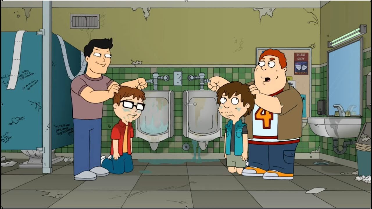 American Dad - Steve and Snot are tormented at school for ...