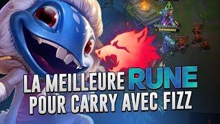 LE MEILLEURE RUNE POUR CARRY AVEC FIZZ