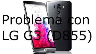 Problema de encendido del LG G3 (D855)