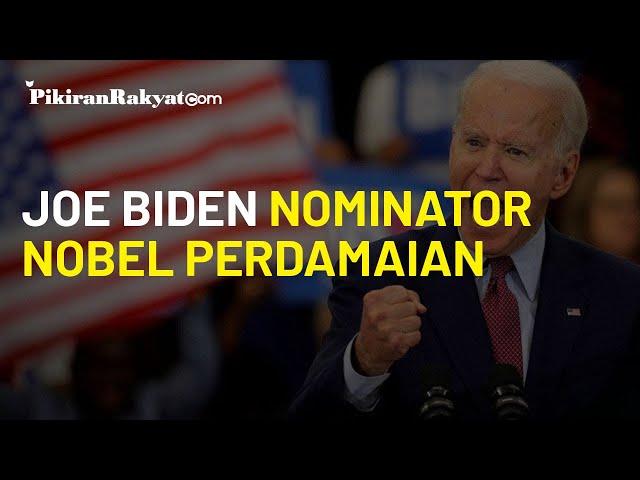 Susul Trump dan Putin, Joe Biden Kini Dinominasikan Terima Nobel Perdamaian