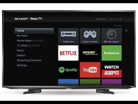 Sharp Roku TV