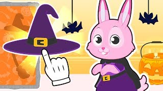 🐰 BABY PETS 🔮 Ruby the Bunny Dresses up as Witch for Halloween | Cartoons for Kids