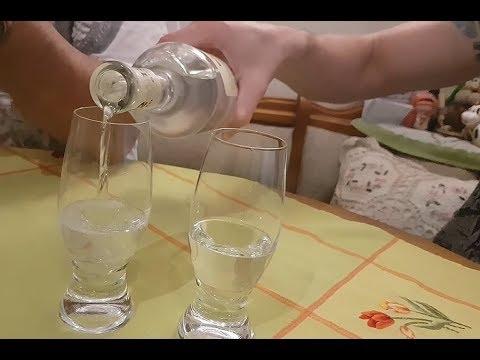 """Как правильно пить """"Узо (Ouzo)"""" - греческую анисовую водку"""