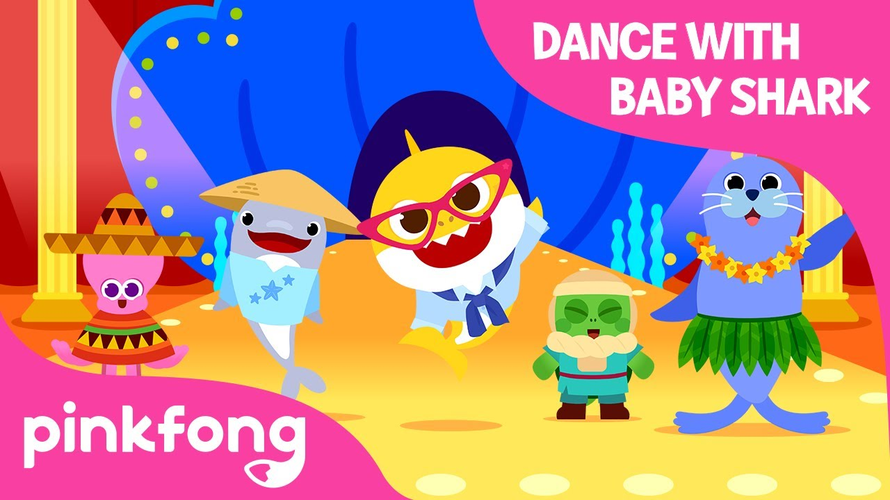The World Festival with Baby Shark | Around the World with Baby Shark | Pinkfong Songs for Children