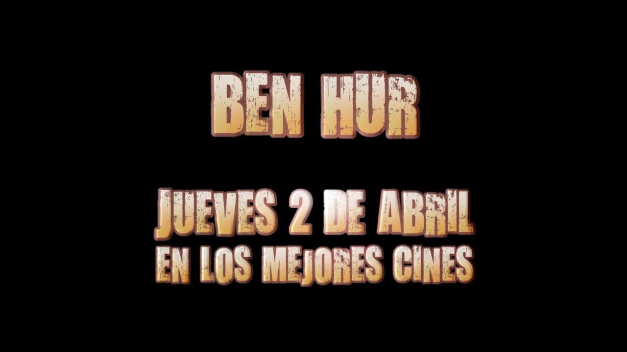 """Tráiler del reestreno de """"Ben-Hur"""" en español"""
