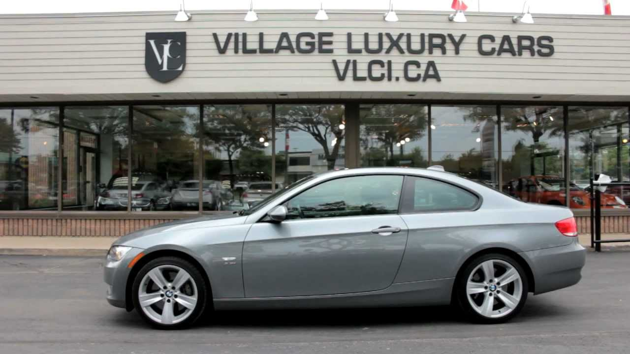 hight resolution of 2009 bmw 335xi coupe village luxury cars markham