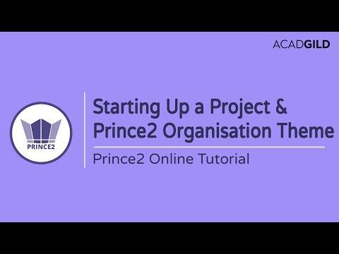 Starting Up A Prince2 Project Process | Prince2 Organization Theme Tutorial | Prince2 Certification