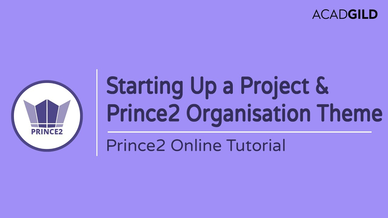 Starting up a prince2 project process prince2 organization theme starting up a prince2 project process prince2 organization theme tutorial prince2 certification xflitez Images