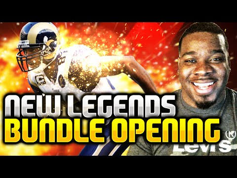 Madden NFL 16 Ultimate Team - Legend Bundle New Legends Torry Holt and Roy Williams - MUT 16