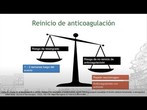 Hemorragia intracraneal en paciente anticoagulado y antiagregado