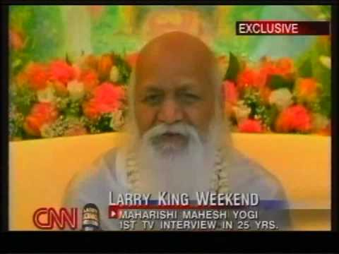 Exclusive - Maharishi on Transcendental Meditation - Larry King Live