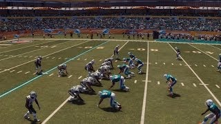 NFL 2013 Week 17 - New York Jets vs Miami Dolphins - 1st Half - Madden 25 PS4 - HD