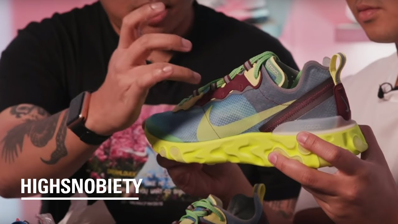 673989c2a2c3 Unboxing the UNDERCOVER X Nike React Element 87 - YouTube