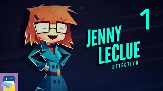 Jenny LeClue - Detectivu: Apple Arcade iPad Gameplay Part 1 (by Mografi)
