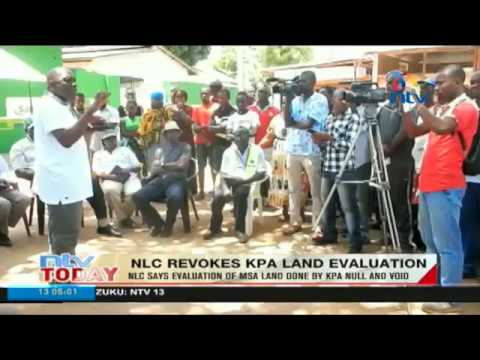 National Lands Commission revokes KPA land evaluation