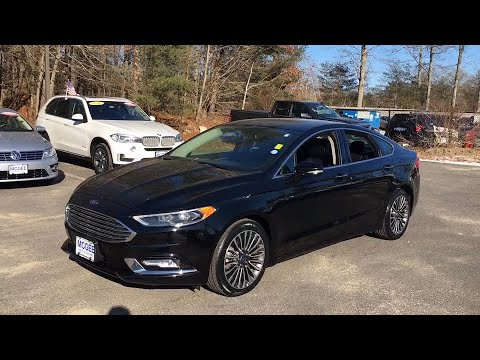 2017 Ford Fusion Plymouth, Marshfield, Pembroke, Weymouth, and Brockton, MA IC6846P