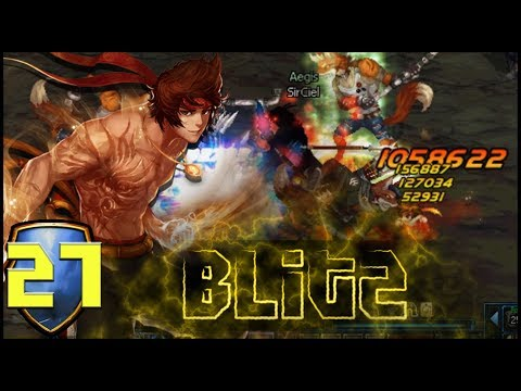 DFO Blitz! - [Male Striker] - THE FLASH MOVES!