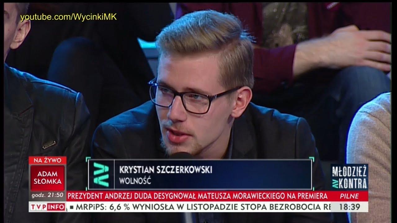 Młodzież kontra 621: Krystian Szczerkowski (Wolność) vs Ryszard Czarnecki (PiS) 09.12.2017