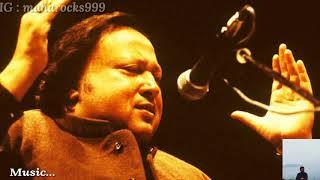 Sochta Hoon - Lyrics with English translation||Ustad Nusrat Fateh Ali khan Sahab||Dekhte Dekhte||
